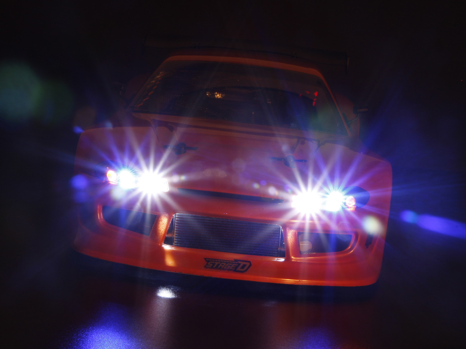 Ксеноновая лампа на автомобиле