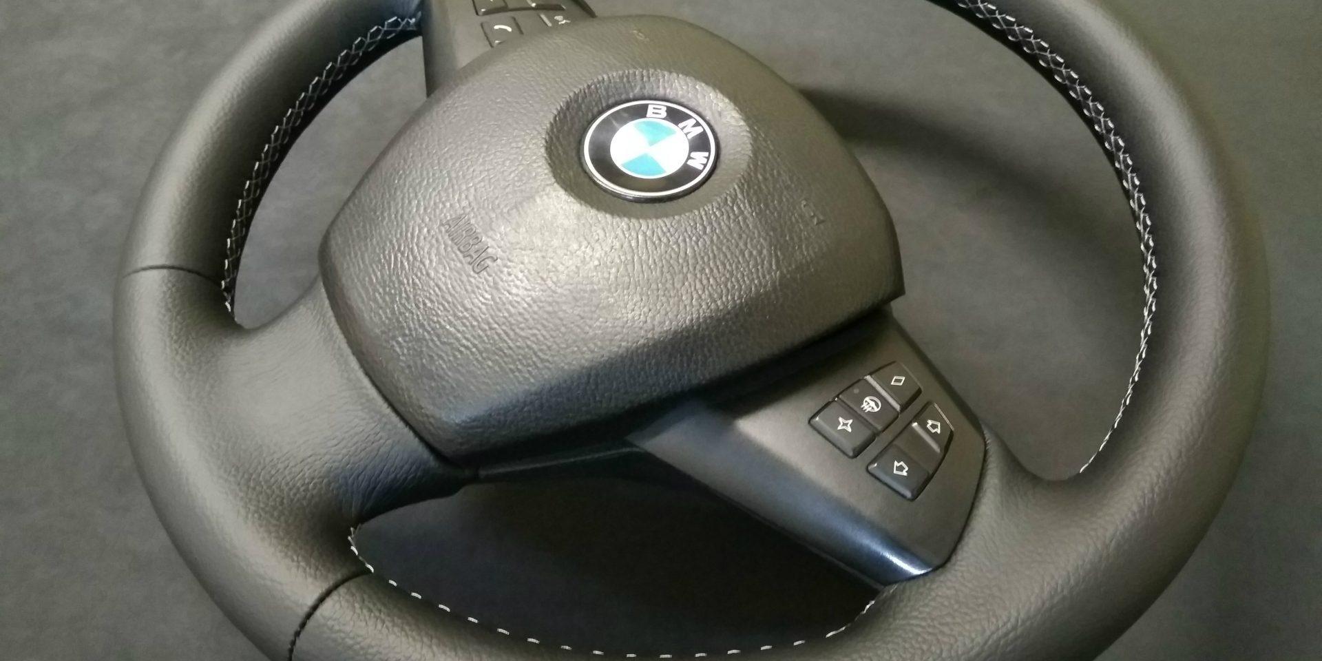 Как перетянуть руль автомобиля кожей своими руками