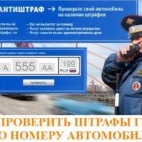 Как проверить штрафы ГИБДД по номеру автомобиля